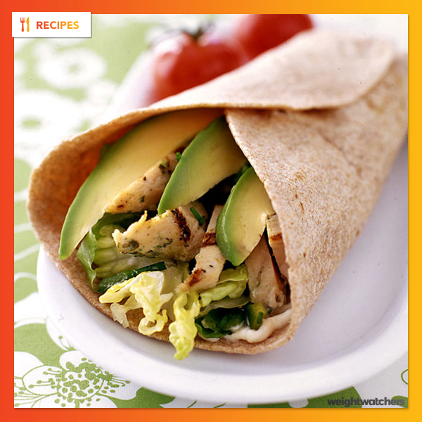 Chicken and Chile Wraps