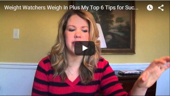Weight Watchers Weigh In Plus My Top 6 Tips for Success (Video)