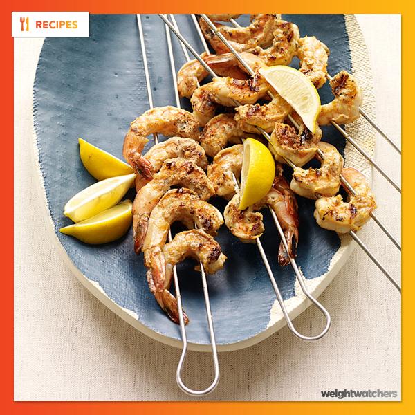 Spanish-Inspired Grilled Shrimp