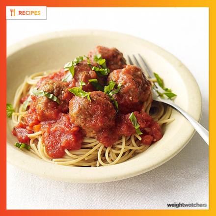 Super–Easy Spaghetti and Meatballs