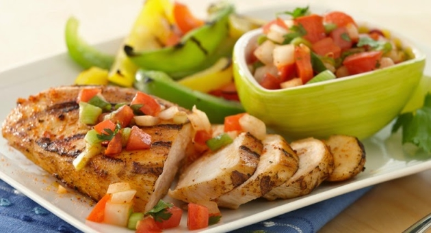 Grilled Chicken-Pico de Gallo