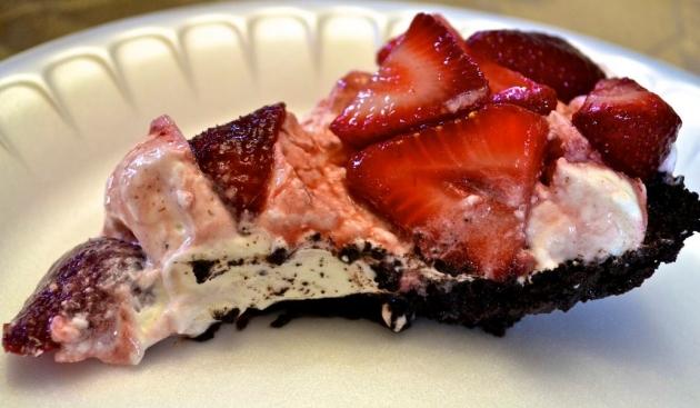 No-Bake Fresh Strawberry Pie