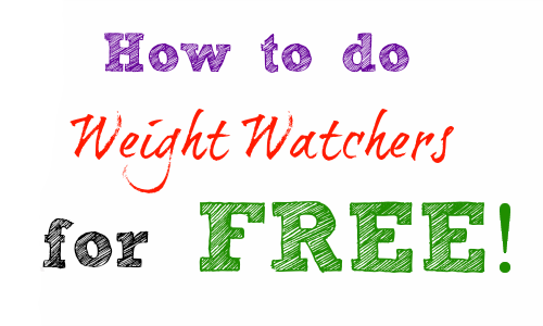 Simple Steps To Doing Weight Watchers For Free