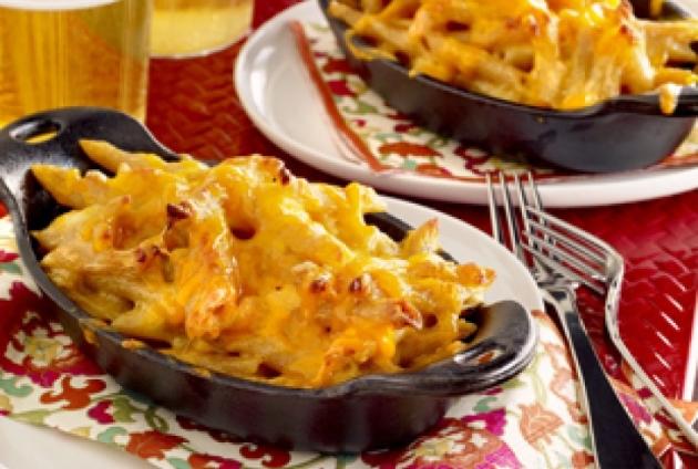 PointsPlus Baked Macaroni and Cheese Recipe (6 pointsplus)