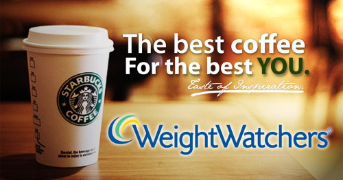 Weight Watchers Starbucks Coffee Drink Choices (with PointsPlus)