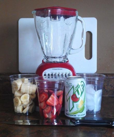 Strawberry Banana Slushy – 0 points!