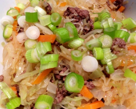 Egg Roll in a Bowl – 2 smartpoints