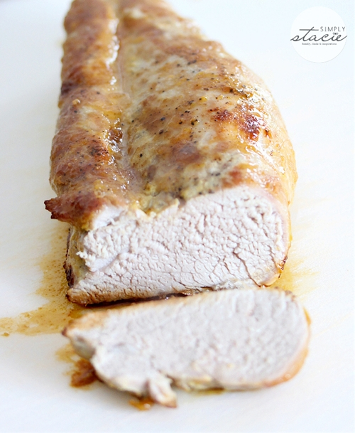 Brown Sugar Dijon Pork Tenderloin