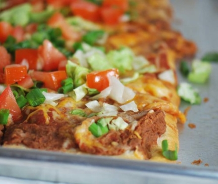 Mexican Bean Pizza – 5 Smartpoints