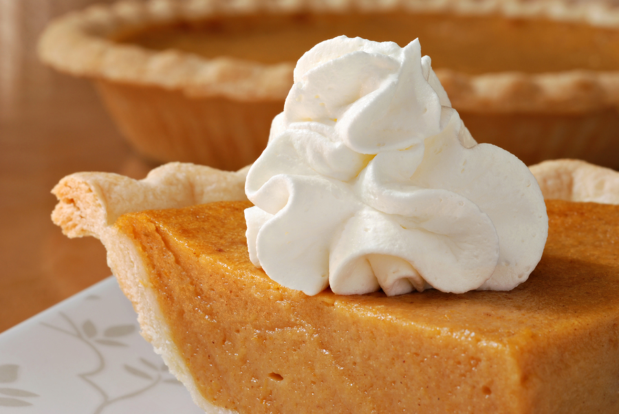 bigstock-Pumpkin-pie-with-swirls-of-whi-35501483