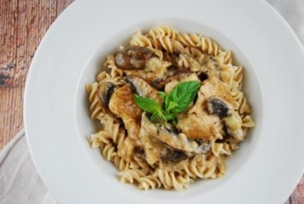 Mushroom Parmesan Chicken Recipe