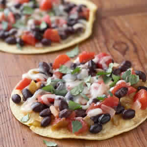 Salsa, Bean, and Cheese Pizza – 8 Smartpoints
