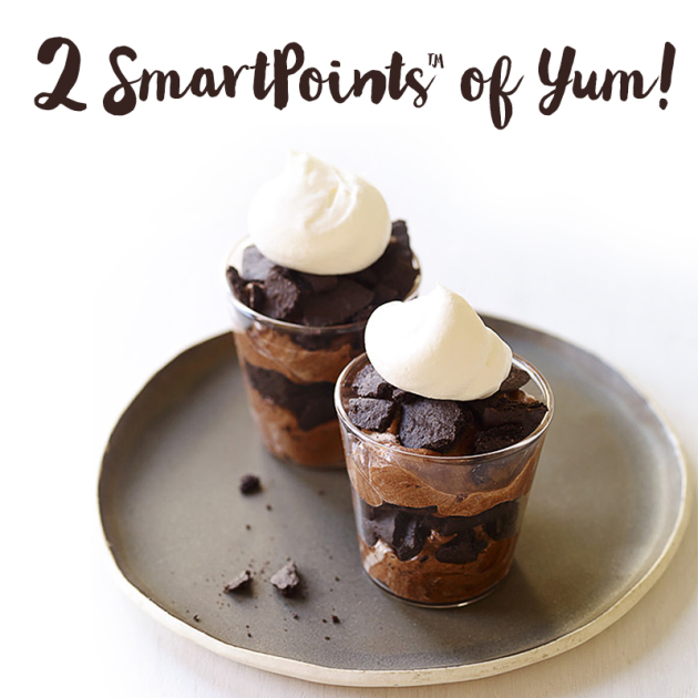2 SmartPoints value Chocolate Espresso Mousse Shots