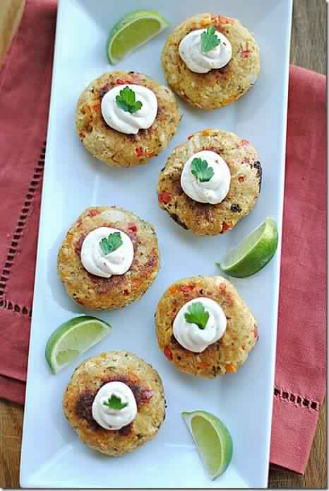 Chipotle Chicken Croquettes with Spicy Mustard Sauce – 5 Smartpoints
