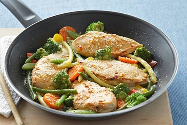 Chicken and Veggie Skillet