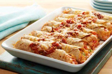 Fiesta Chicken Enchiladas – 7 Smartpoints