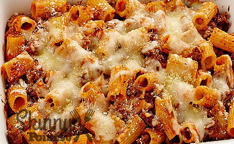 Baked Rigatoni with Beef – 7 SmartPoints