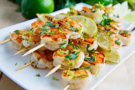 Cilantro Lime Shrimp – 2 Smartpoints
