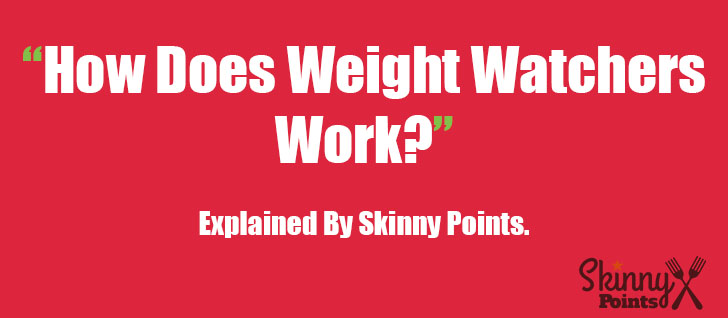 How Does Weight Watchers Work? Explained by Skinny Points.