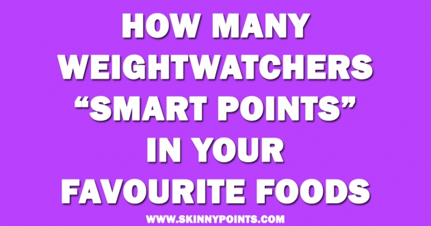 how does weight watchers assign points to food