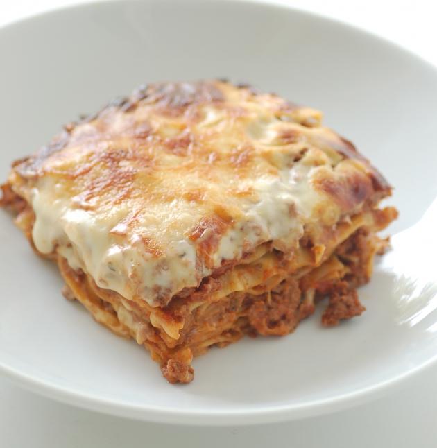 Chicken Spinach & Mushroom Lasagna