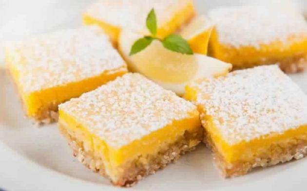Low Fat Lemon Bars