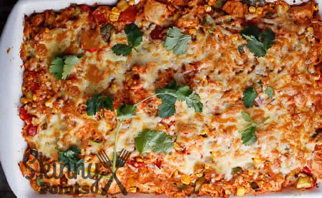 Mexican-Style Brown Rice Casserole – 8 Smartpoints
