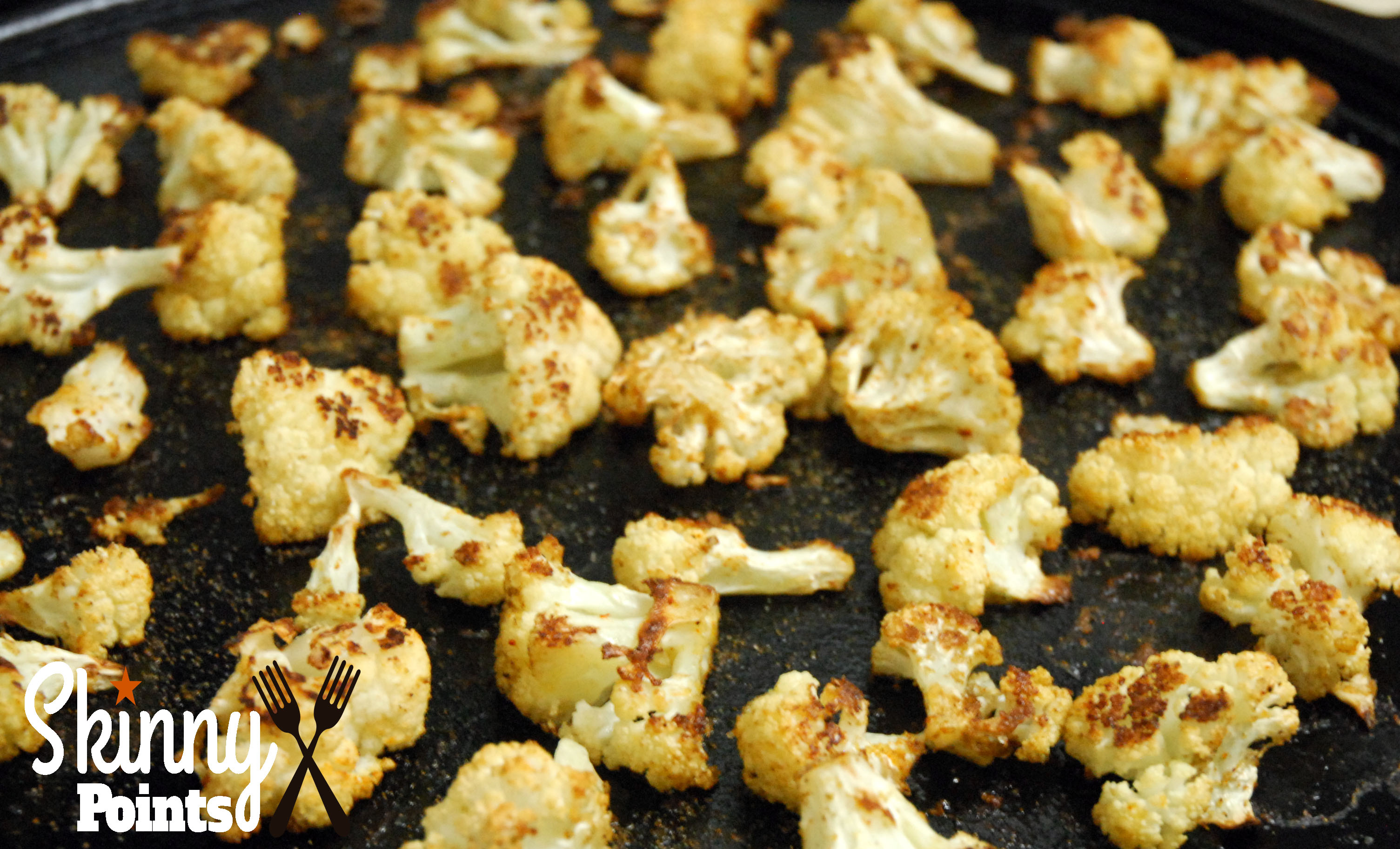 Oven Roasted Cauliflower - 2 Smartpoints