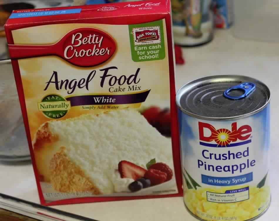 Pineapple angel food cake forumfinder Gallery