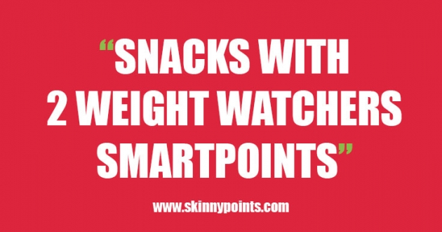 Snacks with 2 Weight watchers Smartpoints