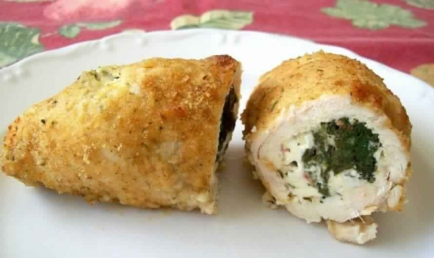 Spinach and Feta Stuffed Chicken Breasts – 3 Smartpoints