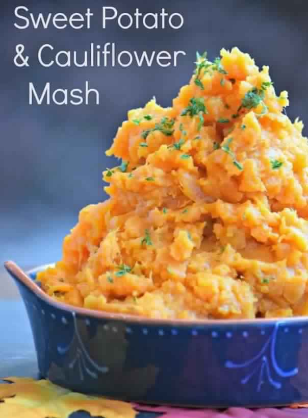 Sweet Potato Cauliflower Mash - 3 SmartPoints