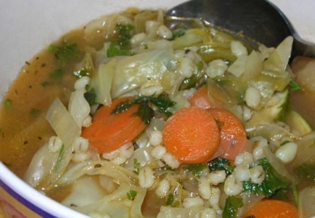 Veggie Barley Soup – 2 Smartpoints