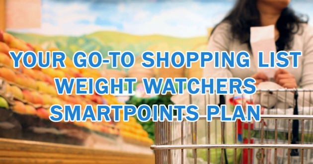Free PDF Download! Your Go-to shopping List – Smartpoints Plan