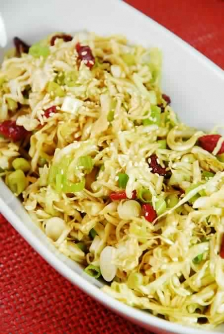 Oriental Cabbage and Cranberry Salad – 2 Smartpoints