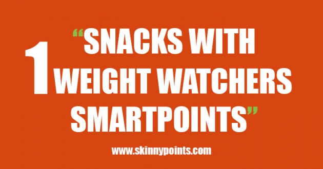 Snacks with 1 Weight Watchers Smart Point
