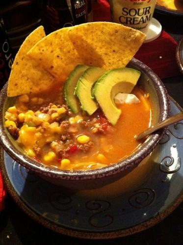 Taco Soup – 6 Smartpoints