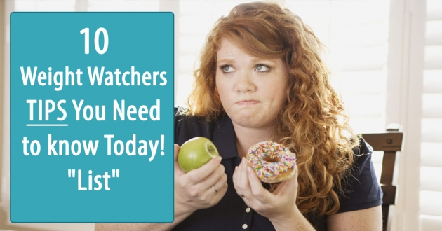 "10 best weight watchers TIPS You need to know today! ""List"""