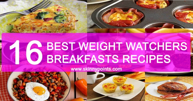 16 of the Best Weight Watchers Breakfasts Recipes
