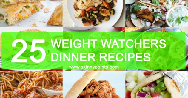 25 Delicious Weight Watchers Dinner Recipes