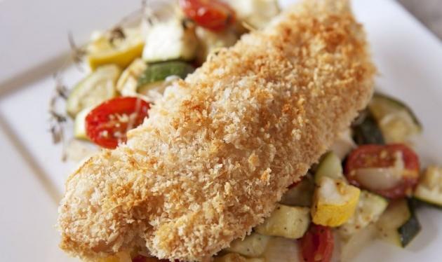 Breaded Chicken Parmesan