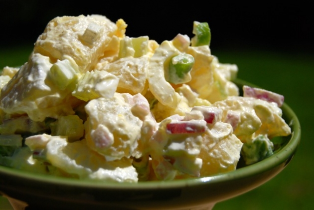 Skinny Points – Recipes » Easy Classic Potato Salad