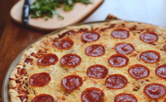 Gluten Free Pizza Crust and Sauce