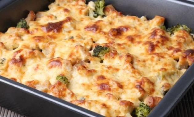 Healthy Chicken Vegetable Casserole