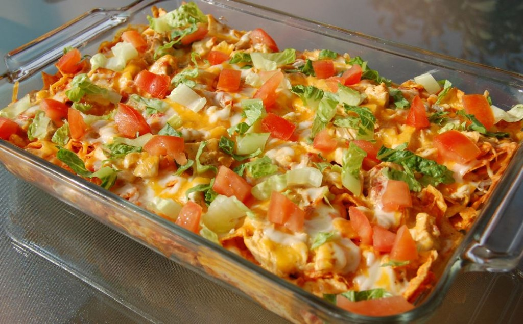 Skinny Points – Recipes » Mexican Chicken Casserole