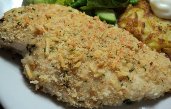 Skinny Points Recipes » Parmesan Chicken Cutlets