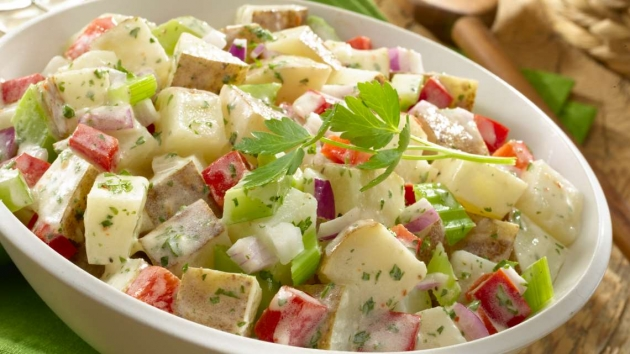 Skinny Points Recipes » Zesty Potato Salad