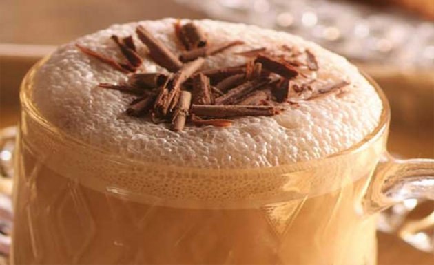 how to make frothy milk for coffee at home