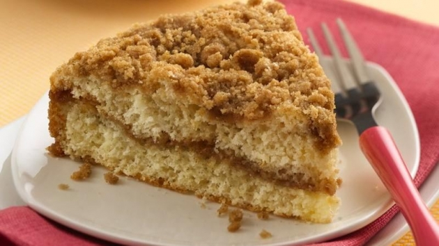 Skinny Points Recipes » Streusel Coffee Cake