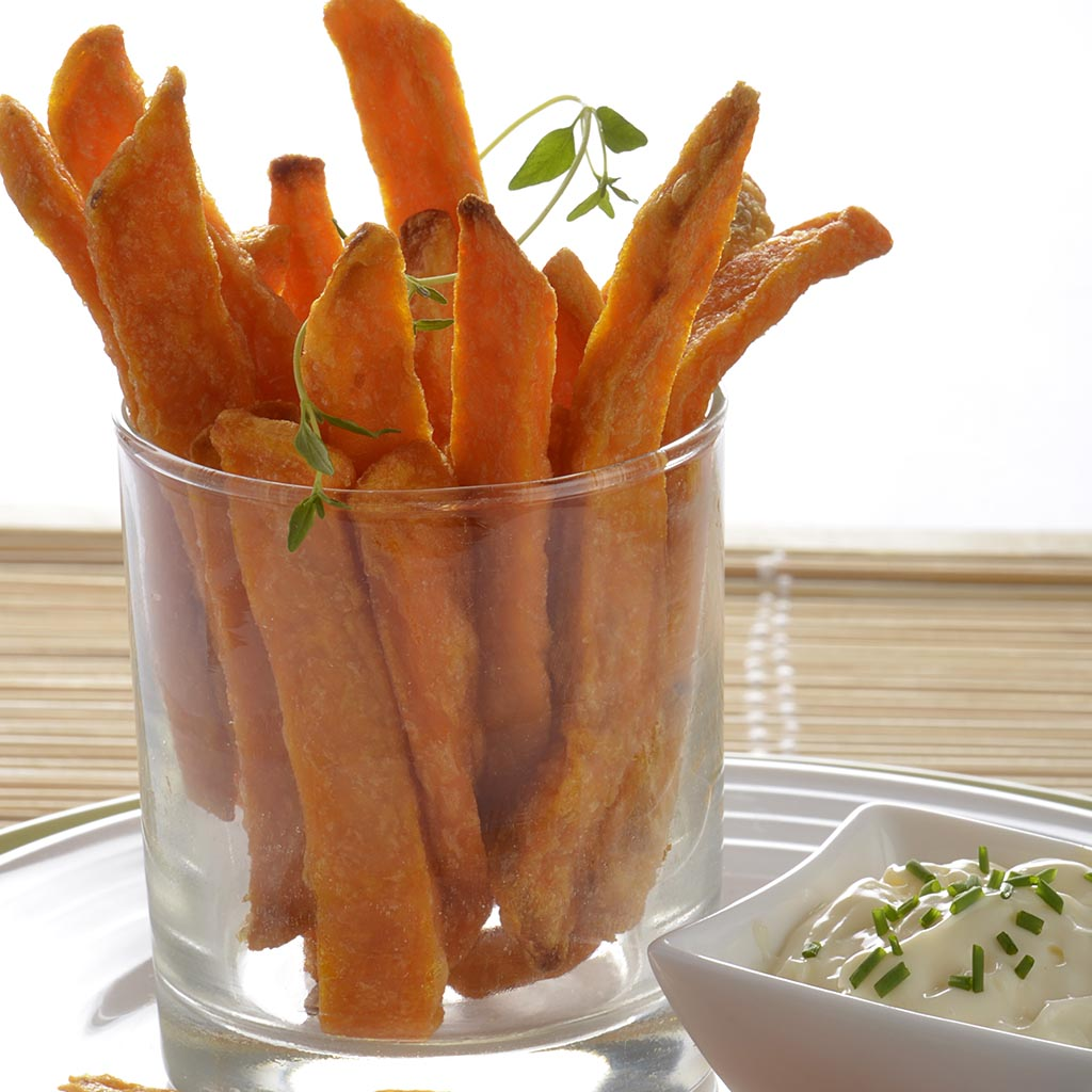 how to make sweet potatoe fries in oven